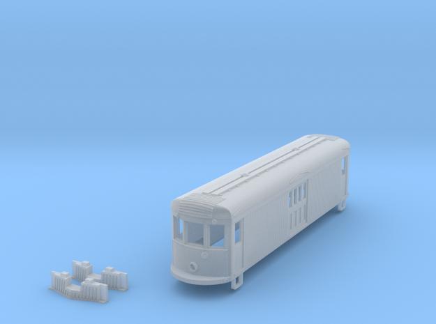 HO Scale 45' Box Motor Shell 3d printed
