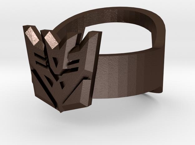 Decepticon Ring - Bottle Opener band or regular 3d printed