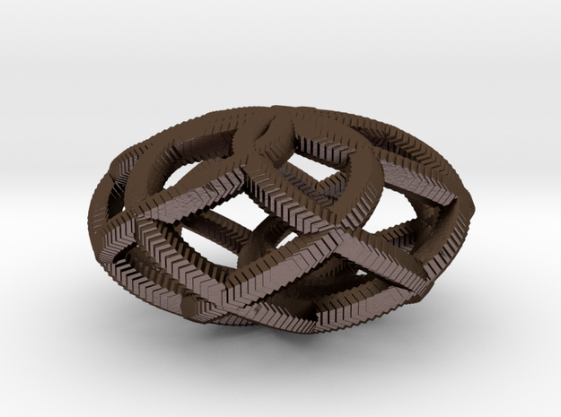 Pendant with 6 loops 3d printed