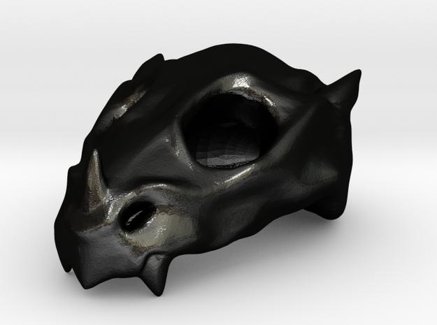 Baby Dragon Skull 3d printed