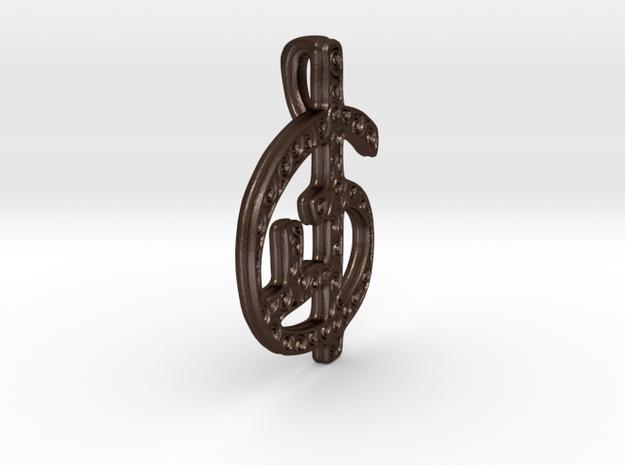 Zoran's Equation Pendant 3d printed