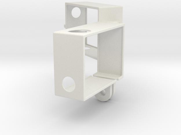 Hero3 Frame Dual in White Strong & Flexible