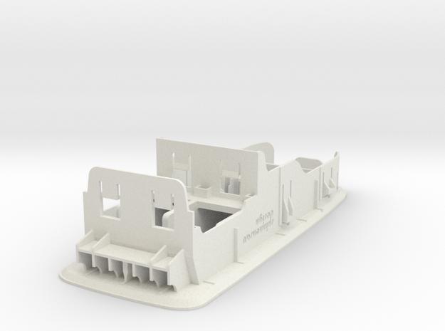 Blende für 2 Fensterheberschalter in White Strong & Flexible