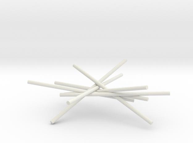 7cyl 5p30 in White Natural Versatile Plastic