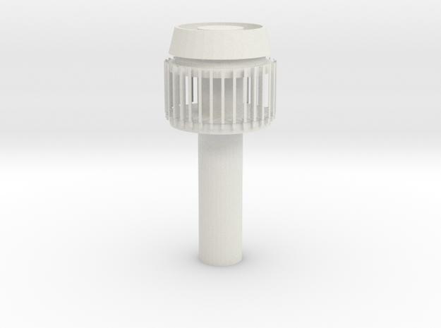 Cybergun part 1 in White Natural Versatile Plastic