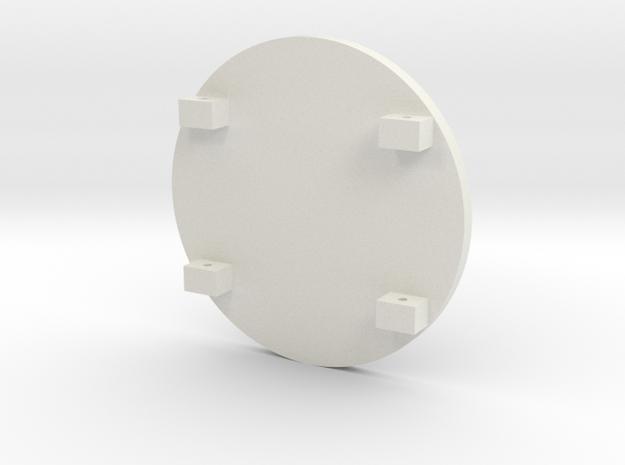Spartan Shield Silver2 in White Strong & Flexible