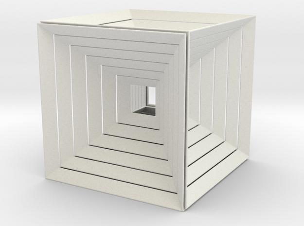Hypercube150³ in White Strong & Flexible