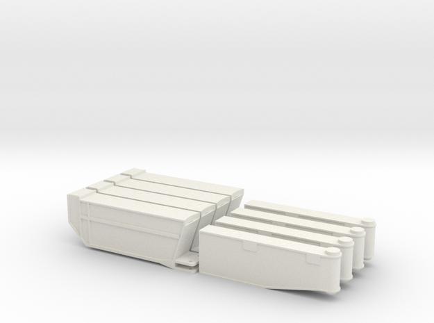 TC2800 Stuetzen in White Natural Versatile Plastic