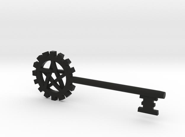 Pentacle Gear Key 3d printed