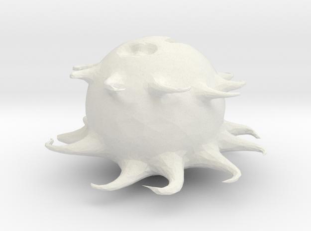 Sad monster..(by Nicky, Deszk) 3d printed