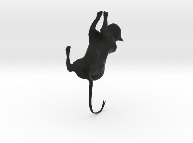 cat jumping 2 3d printed