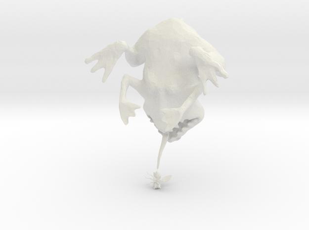 Deszk meszes barna béka 3d printed