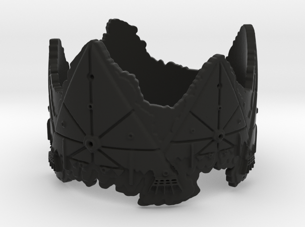 Cloud Ships 2, Ring Size 12 3d printed