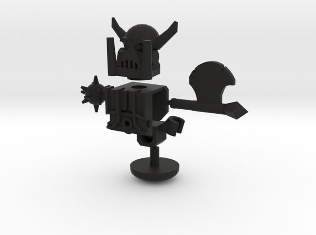 Freelance Peacekeeping Agent Upgrade Set 3d printed