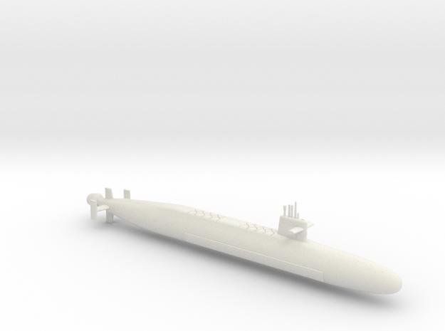 1/700 Le Triomphant Class SSBN in White Natural Versatile Plastic