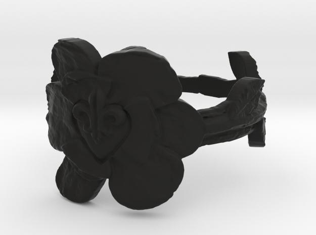 NOLA Magnolia, Ring Size 6 3d printed