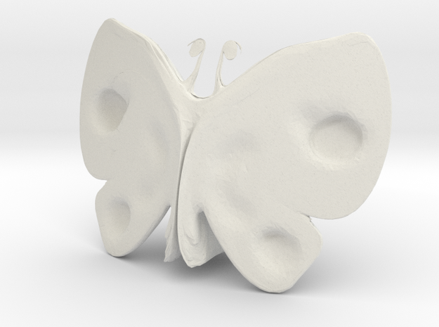 Deszk (butterfly) 3d printed