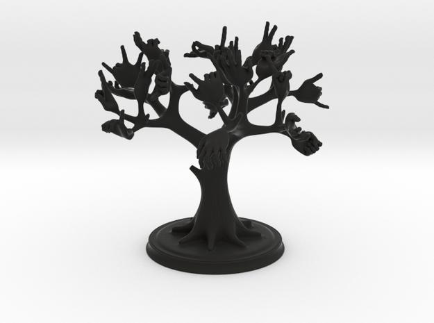 hands tree 3d printed