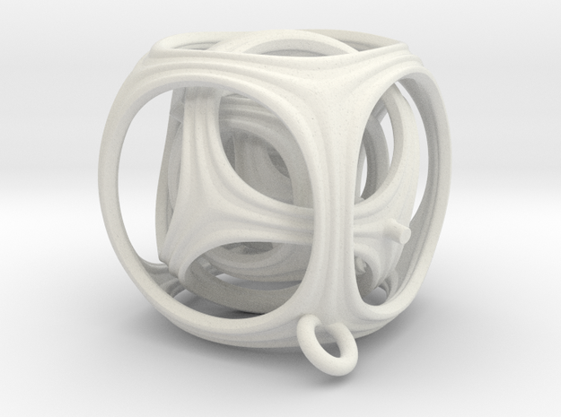 Gyro The Cube (S) (Ring + Pattern) 3d printed