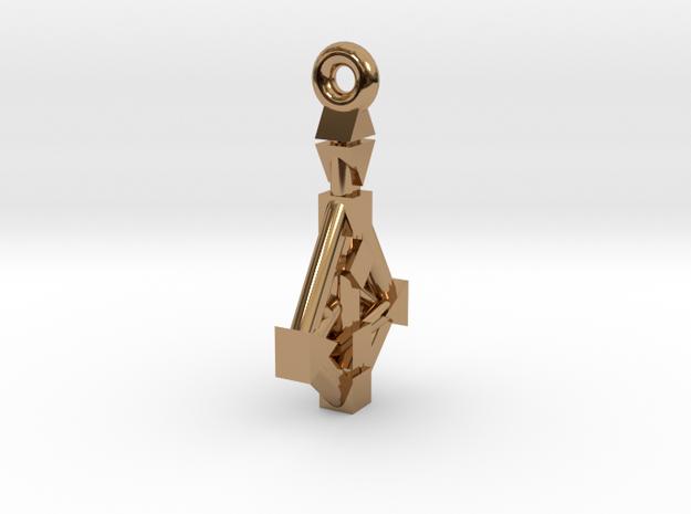 Human-Design 9-Chakra Pendant 3d printed