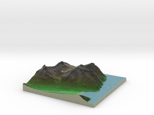 Terrafab generated model Fri Sep 27 2013 13:00:18  in Full Color Sandstone