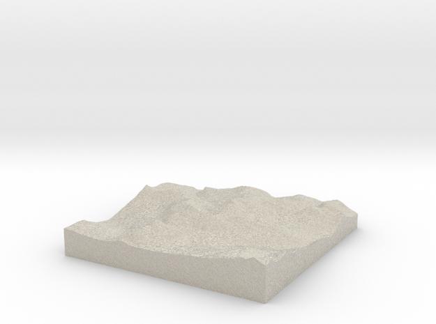 Terrafab generated model Fri Sep 27 2013 11:28:01  3d printed