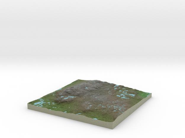 Terrafab generated model Fri Sep 27 2013 15:23:50 3d printed
