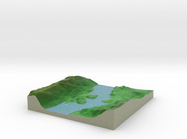 Terrafab generated model Fri Sep 27 2013 17:36:40 3d printed