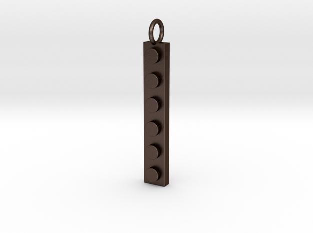 Lego Pendant Skinny 3d printed