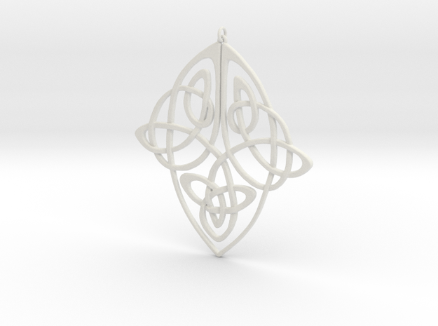 Celtic Pendent 1 3d printed