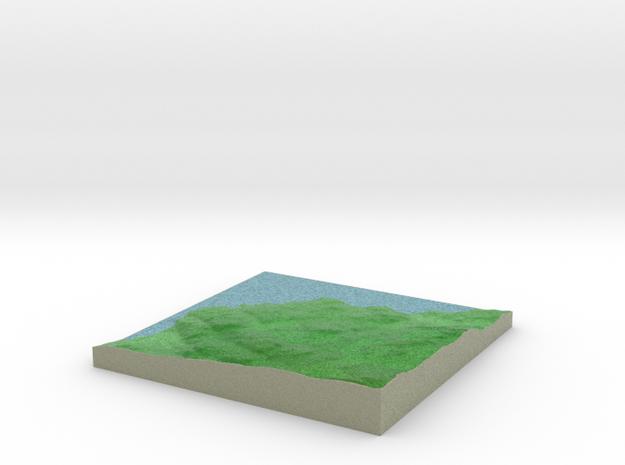 Terrafab generated model Sun Sep 29 2013 13:08:56 3d printed