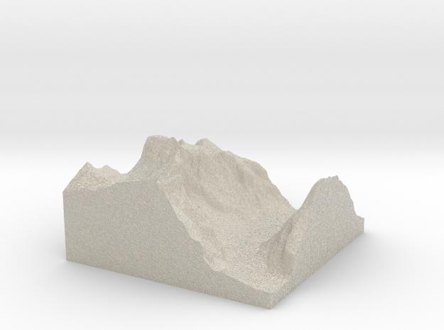 Terrafab generated model Sat Sep 28 2013 20:42:44  3d printed