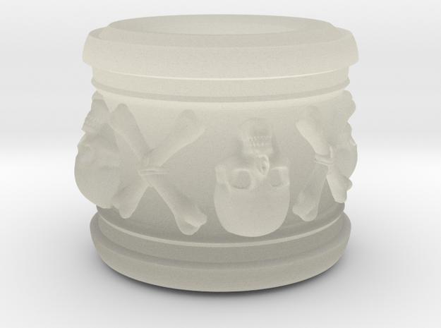 Bone Collection - Skull & crossbones 3d printed