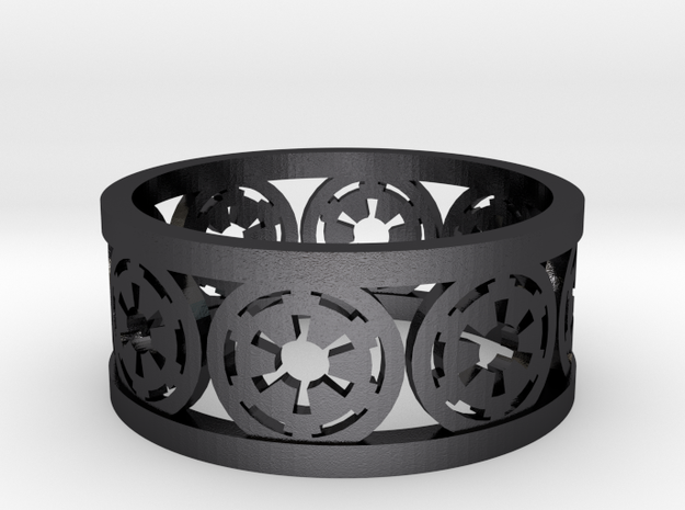 Star Wars Empire Insignia Band Ring  3d printed