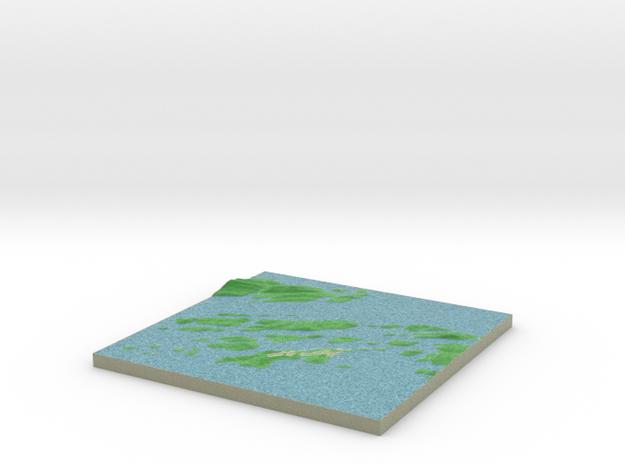 Terrafab generated model Mon Sep 30 2013 10:16:05 3d printed