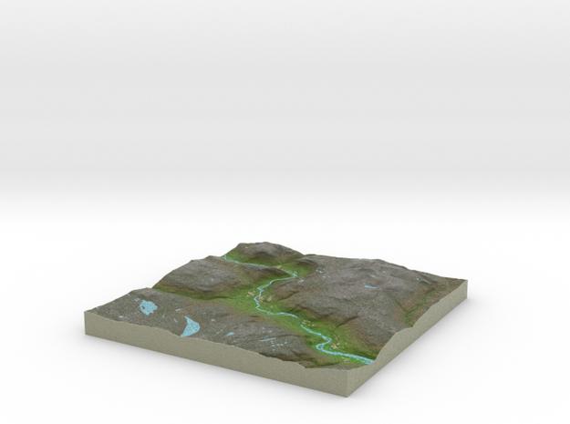 Terrafab generated model Tue Oct 01 2013 10:21:20 3d printed