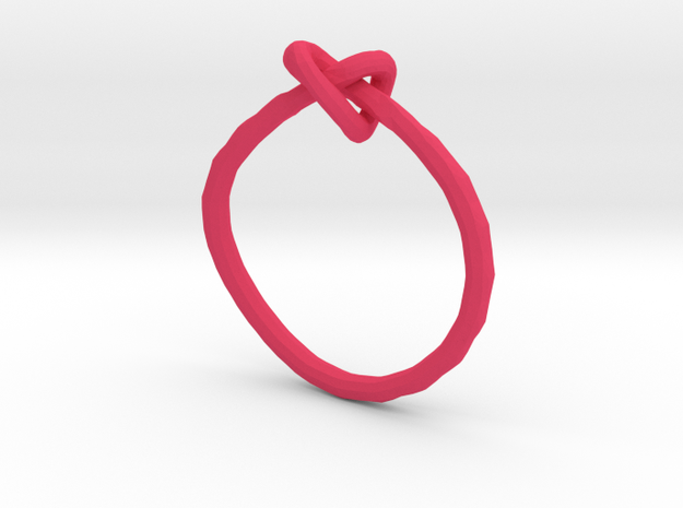 Love knot ring - size 8 3d printed