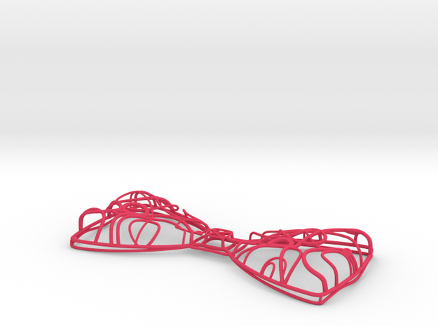 Gallifreyan Space Bow Tie as Necklace or Bow Tie 3d printed