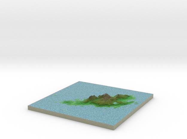 Terrafab generated model Mon Sep 30 2013 21:53:32 3d printed