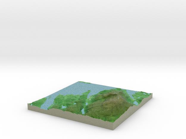 Terrafab generated model Wed Oct 02 2013 16:53:29 3d printed