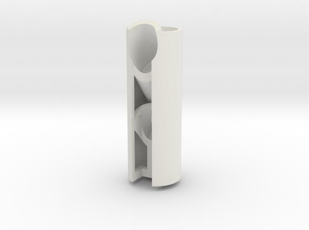 Led-holder2-45degree 3d printed