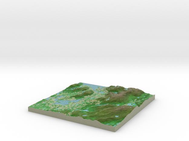 Terrafab generated model Mon Sep 30 2013 21:42:17 3d printed
