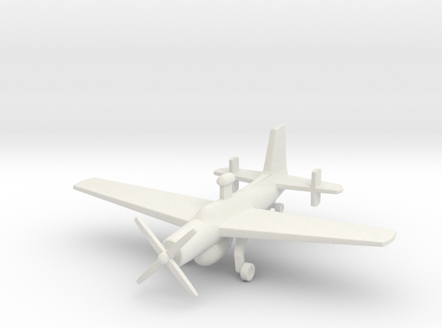 1/285 (6mm) AF-2W Submarine Hunter in White Strong & Flexible