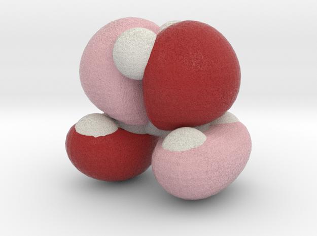 Highest molecular orbital of cyclopropane 3d printed