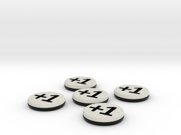 Plus/Minus Tokens (Batch of 5) 3d printed