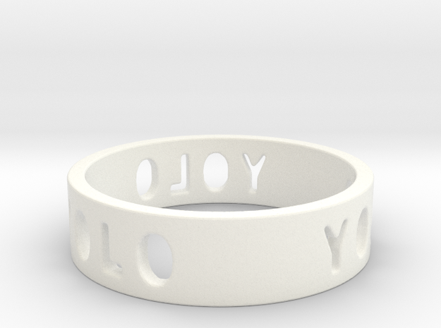 YOLO TYPE 2, Size 4.5 Ring Size 4.5 3d printed