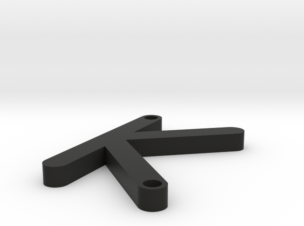 K OCR A EXTENDED 3d printed