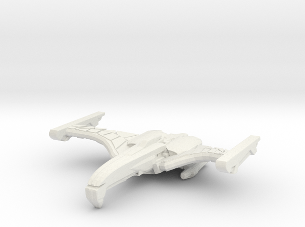 Deathsting Class B Cruiser in White Strong & Flexible