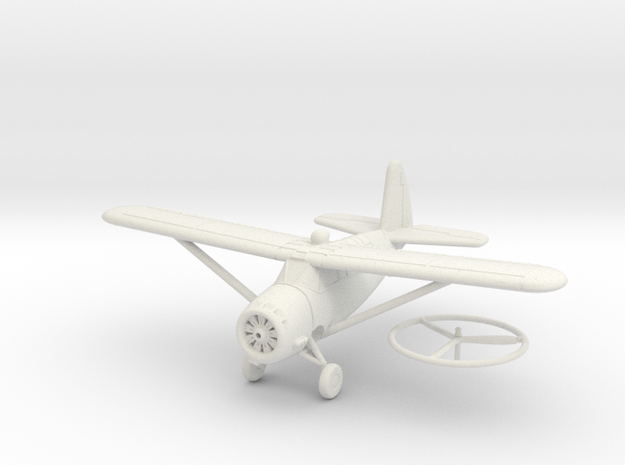 1/100 Curtiss O-52 Owl in White Strong & Flexible
