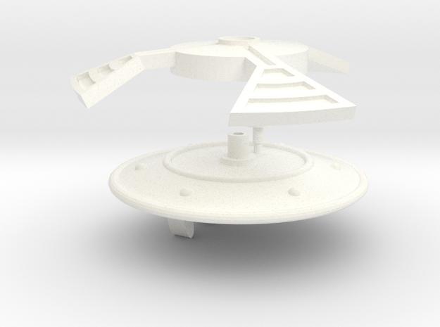 FF-Shield in White Processed Versatile Plastic